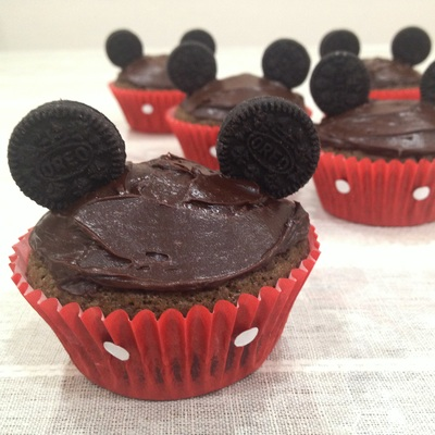 Mickey Mouse Cupcakes Recipe Kid Recipes
