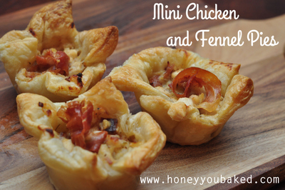 Mini Chicken & Fennel Pies