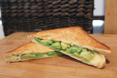 cheese toastie, cheese and avocado toastie, gourmet toastie, toasties for kids, food for kids, easy kids food