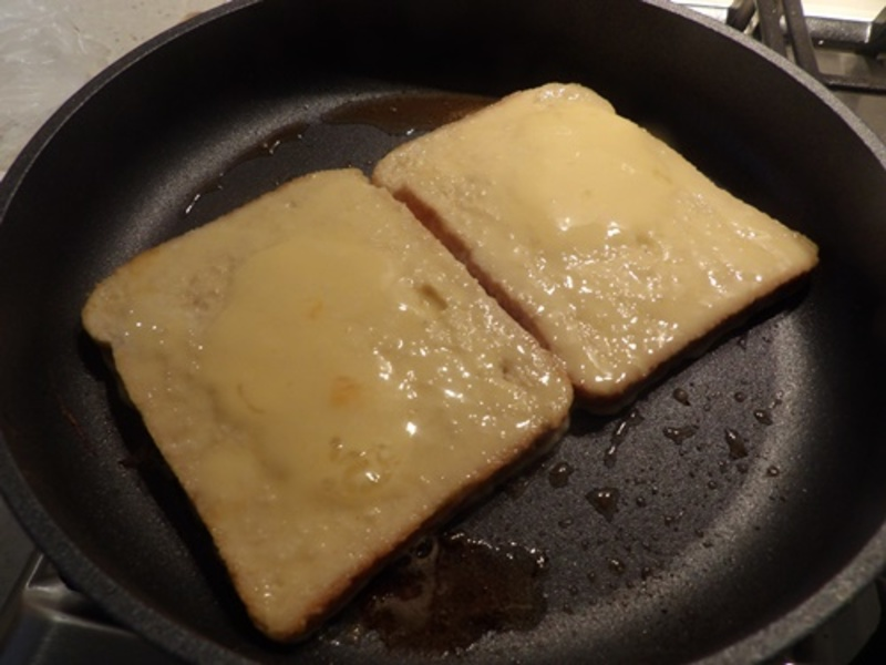 cooking,short,cut,bacon  - Cheese and Bacon French Toast