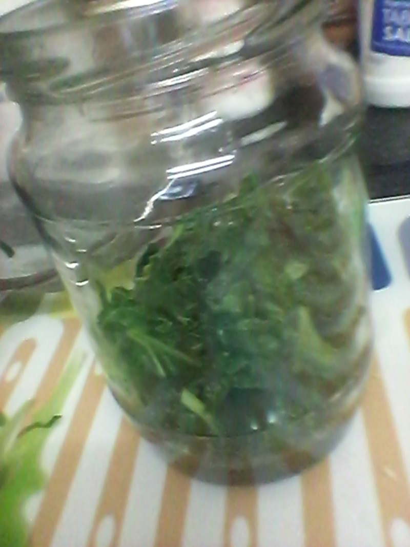 Cool Kale and Rosemary Salad
