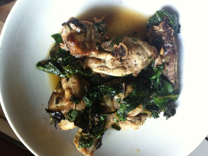 Teen-approved rosemary chicken