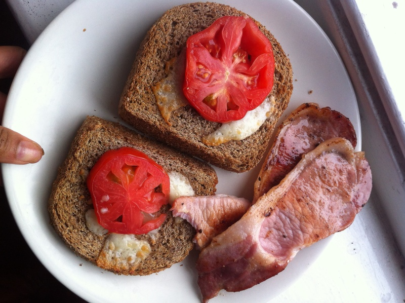 Grown-up Bacon and Cheese Sarnies
