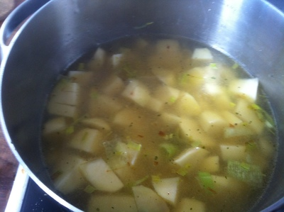 leek and potatoe soup