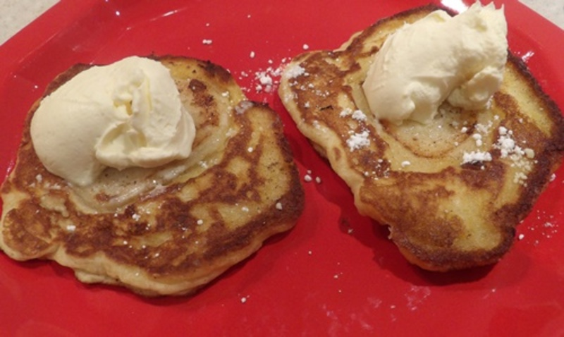 pear,and,apple,pikelets  - Apple and Pear Pikelets