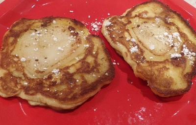 cooked,apple,and,pear,pikelets