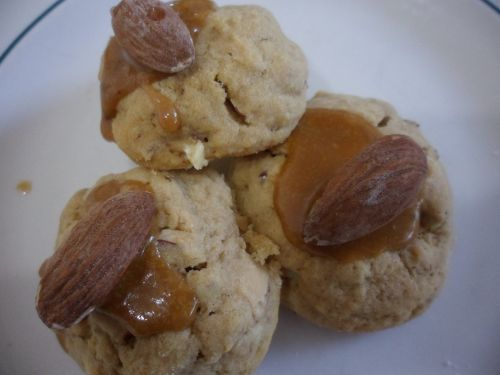 Coffee and Almond Cookies
